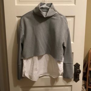 Zara trafaiuc collection turtleneck with built in